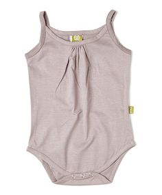 Mauve Organic Camisole Bodysuit by Nui Organics (perfect for adding layers!)