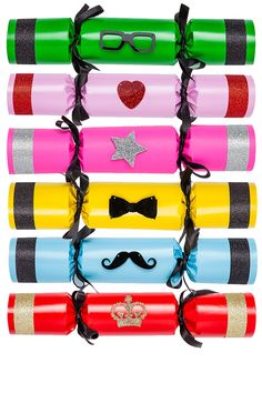 Tatty Devine Deluxe Christmas Crackers - now 25% off! http://www.tattydevine.com/tatty-devine-deluxe-crackers.html