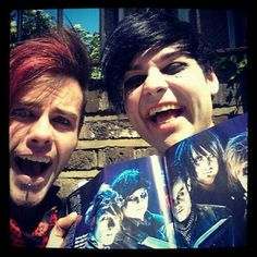 Kier and Laurence being adorable!