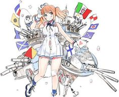 A illustration by the author of Axis Powers Hetalia Hidekaz Himaruya is she supposed to be the EU? Studio Deen, Hetalia Anime, Hetalia Fanart, Wow 2, Spamano, Hetalia Axis Powers, Dark Lord, All Anime, Anime Oc