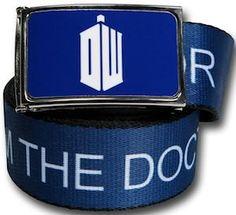 Doctor Who DW Logo Pewter Finish Belt Buckle