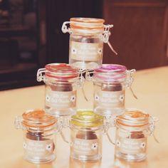 Store 'em, Store 'em! Made with Love & Thankfulness !  #minijar #engagement