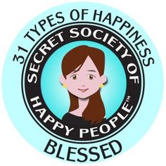 Did you know August is Happiness Happens Month? It sounds hokey, but it's a lot of fun! I'm actually a Happiness Happens Month Ambassador. You can become an Ambassador, too. There are lots of great resources you can share through social media. In my post, you can find out more about happiness research, the 31 types of happiness (the Blessed Happicon shows my favorite type of happiness), and how to become a Happiness Happens Month Ambassador.