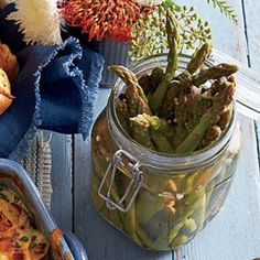 Southern Pickle Recipes: Asparagus Pickles