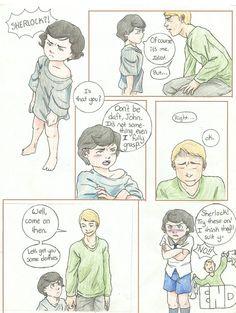 De-aged Sherlock by tophis1.deviantart.com