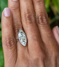 Have you ever seen antique old Euro pear cut diamonds? 👀 These beauties are placed into a beautiful marquise shaped filigree setting. Sku CN15144. Pear Diamond, Diamond Rings, Diamond Cuts, Amethyst Jewelry, European Cut Diamonds, Antique Engagement Rings, Vintage Rings, Antique Jewelry, Jewelery