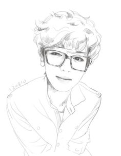 Chanyeol Fanart cr: to the owner