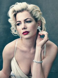 Michelle Williams Photographed by Annie Leibovitz for the October Issue of Vogue