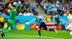 Uruguay 2 England 1 - FIFA World Cup round up Day Eight