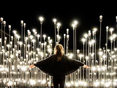 'LEDscape' installation is a collaboration with LIKEarchitects and IKEA, located in the Centro Cultural de Belém in Lisbon.