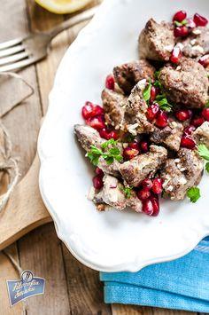 Wątróbka z granatem po libańsku Kung Pao Chicken, Poland, Ethnic Recipes, Food, Essen, Meals, Yemek, Eten