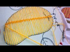 Puntada Fantasia Facil Flor abierta - YouTube