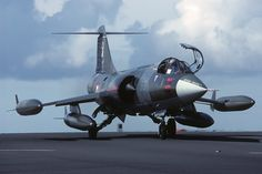 The F-104 Starfighter !