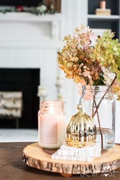 Simple Fall Decor for Kitchen & Living Room - Jenna Kate At Home ,jennakateathome ,falldecor ,copperdecor ,fallhometour 95208979607153035