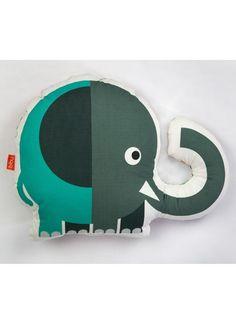 Coussin Elephant par Bibu