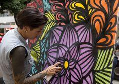 @_rafamon_ | Lançamento Mulher Natureza em Ipanema.