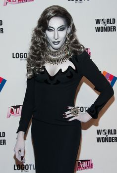 Detox served head-to-toe grayscale realness on the red carpet.