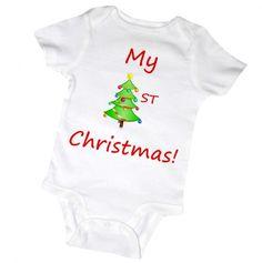 Babies 1st Christmas - Onsie.
