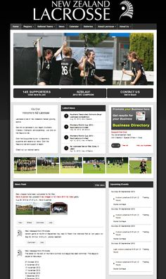NZ Lacrosse - one of our national sporting organisations