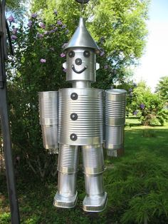 1000 images about tin can ideas on pinterest tin cans for Tin man out of cans