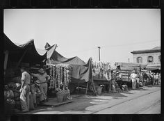 Marketplace at New Orleans, Louisiana 1936