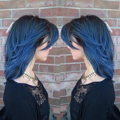 Eufora Color blue hair creative color