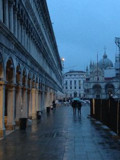 Piazza San Marco at twilight