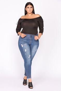 e339689a362ef Laced In Bodysuit - Black. Curvy Women FashionPlus Size FashionWomens ...