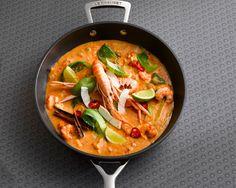 Thailändisches Garnelen-Curry