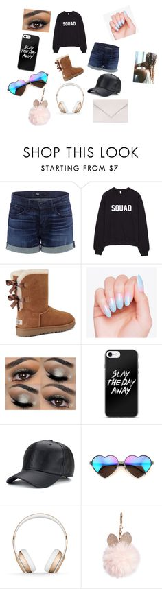 """You Can Do Anything"" by sz2006 ❤ liked on Polyvore featuring 3x1, UGG, Wildfox, Beats by Dr. Dre, GUESS and Verali"