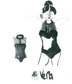 Illustrator Julia Perrin/ Personal : #juliaperrin #illustrator #valentino #erichennebertagency