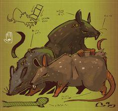 Rat by MisterFeelgood on DeviantArt Rats, Creatures, Deviantart, Mice, Environment, Animals, Mirror, Instagram, Animales