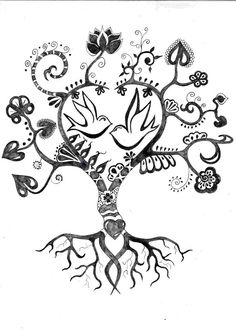 Tree tattoo, can alter details to fit our family