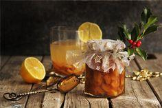 V kuchyni vždy otevřeno ...: Pečený zázvorový čaj s citrusy Moscow Mule Mugs, Alcoholic Drinks, Food And Drink, Smoothie, Cheese, Homemade, Table Decorations, Cooking, Tableware