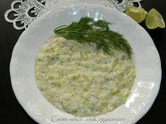 Kapros tejfölös tökfőzelék Palak Paneer, Grains, Rice, Ethnic Recipes, Food, Essen, Meals, Seeds, Yemek