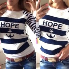 New arrival Nwt hope sweater Small nwt Sweaters