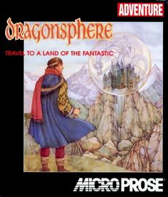"""""""Dragonsphere"""" Developed by MicroProse Best Spotify Playlists, Video Game Music, Classic Video Games, Adventure Games, Gaming Computer, Best Songs, Good Music, The Past, Retro"""