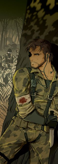 Snake - Metal Gear Solid 3 - Jacopo Camagni