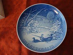 Copenhagen Porcelain Plate Kongelig by catherinefarrens on Etsy, $8.99
