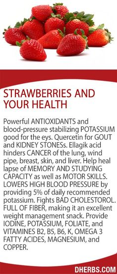 Strawberries and Your Health