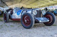 #Riley #TT #Sprite aux Grandes Heures #Automobiles à #Montlhéry Reportage complet : http://newsdanciennes.com/2015/09/29/grand-format-les-grandes-heures-automobiles/ #Vintage #Cars #Classic_Cars #Voitures #Anciennes