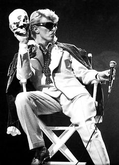 Music Legends, David Bowie, 1983 /2016, © hu.lumas.com/