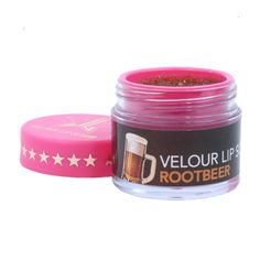 Jeffree Star Velour Lip Scrubs in Root Beer, Strawberry Gum, and Mojito