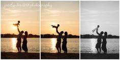 Family Sunset Photos | Jac & Jules