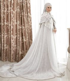 A successful marriage requires falling in love many times always with the same person. Throwback Our pretty customers in by byayudyahandari Wedding Abaya, Hijabi Wedding, Muslim Wedding Gown, Muslimah Wedding Dress, Hijab Style Dress, Disney Wedding Dresses, Muslim Brides, Muslim Dress, Pakistani Wedding Dresses