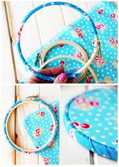 Embroidery Projects Step by step instructions for how to bind an embroidery hoop and correct set up for hand embroidery. Embroidery Hoop Crafts, Hand Embroidery Patterns, Ribbon Embroidery, Embroidery Art, Cross Stitch Embroidery, Machine Embroidery, Embroidery Digitizing, Embroidery Sampler, Quilt Patterns