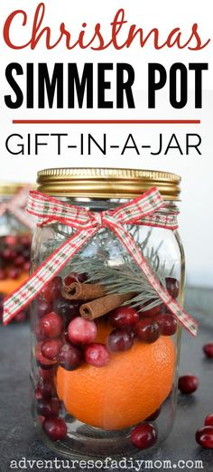 Enjoy the aroma of Christmas with TWO stovetop potpourri recipes. These simmering pots will infuse your home with the smells of Christmas. Christmas Scents, Homemade Christmas Gifts, All Things Christmas, Homemade Gifts, Christmas Crafts, Holiday Gifts, Christmas Recipes, Christmas Ideas, Holiday Ideas