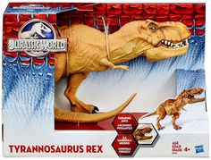 Jurassic World JW Tyrannosaurus T Rex Chomping Jaw Dinosaur Hasbro 2015 for sale online Indominus Rex, Tyrannosaurus Rex, Jurassic Park Toys, Amblin Entertainment, The Lost World, Dinosaur Toys, T Rex, New Toys, Action Figures