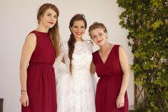 With my beautiful bridesmaids ❤️ (C) Nico Nardomarino Burgundy Wedding, Italy Wedding, Bridesmaids, Beautiful, Wine Colored Wedding, Bridesmaid, Bridal