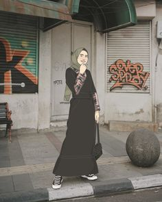 Please don't repost my illustration, just pin it🙏  #yffillustration #yffillustration2019 #yff2019 #illustration #ilustrasi #ilustrator #art #drawing #doodle #design #digitalillustration #ilustrasidigital #fashiondesign #ootd #ootddrawing #ootdhijab #outfitdrawing #dailydrawing #indonesianillustrator #ilustratorindonesia #cartoon #art #orderilustrasi #ordergambar #moeslimwear #muslimah #kartunmuslimah #sket #sketch #adobephotoshop #helminursifah Fashion Design Drawings, Fashion Sketches, Girl Cartoon, Cartoon Art, Hijab Drawing, Islamic Cartoon, Hijab Cartoon, Ootd Hijab, Muslim Women